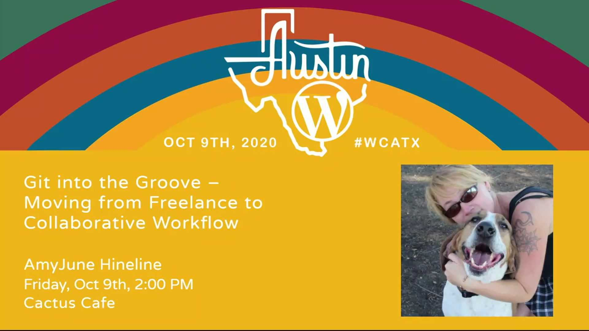 AmyJune Hineline: Git into the Groove – Moving from Freelance to Collaborative Workflow