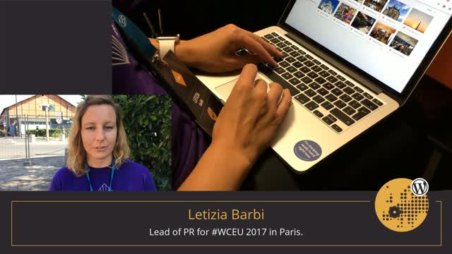 Volunteer Stories: Letizia Barbi at WordCamp Europe 2017