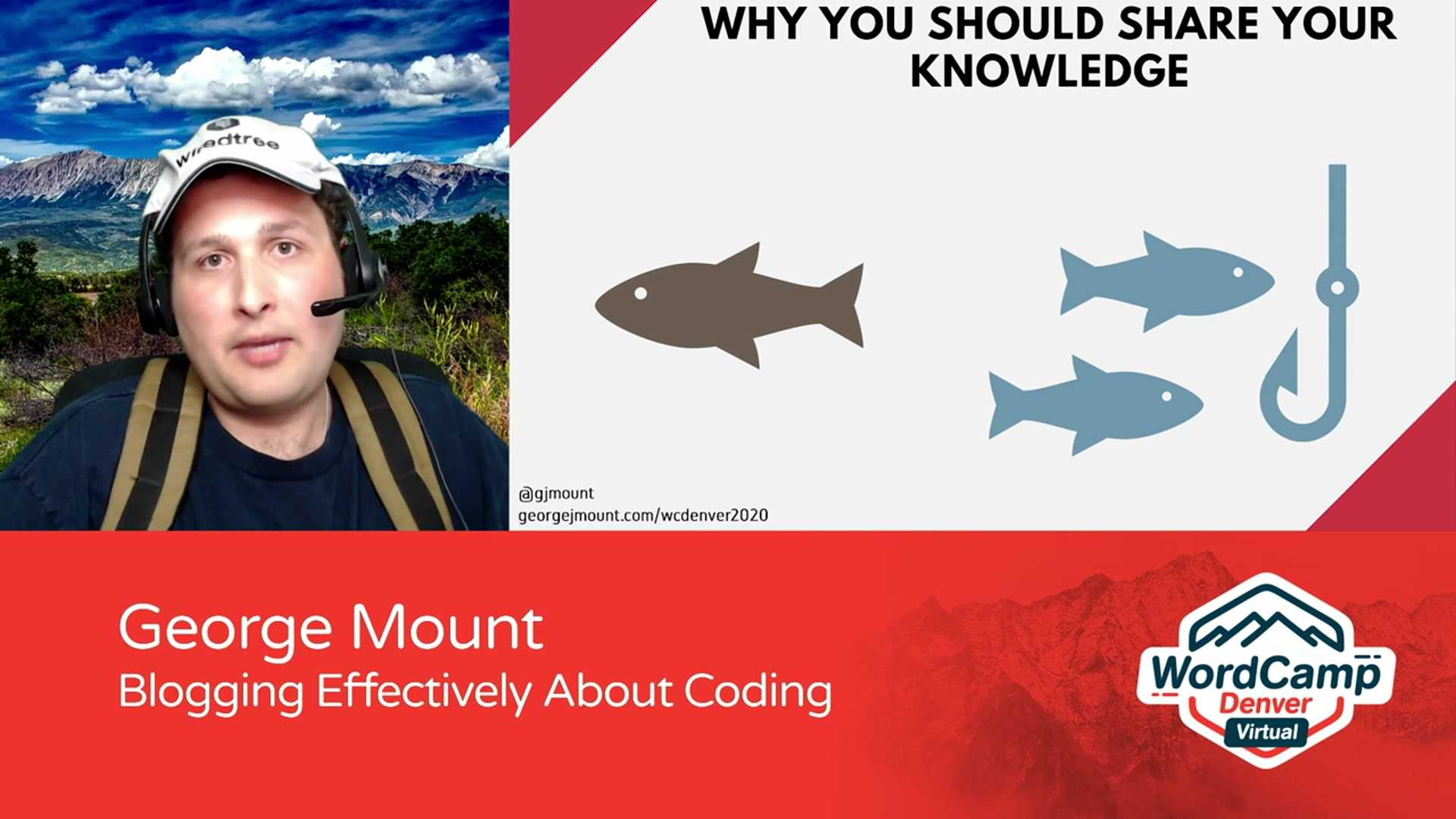 George Mount: Blogging Effectively About Coding