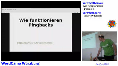 Robert Windisch: Wie funktionieren Pingbacks