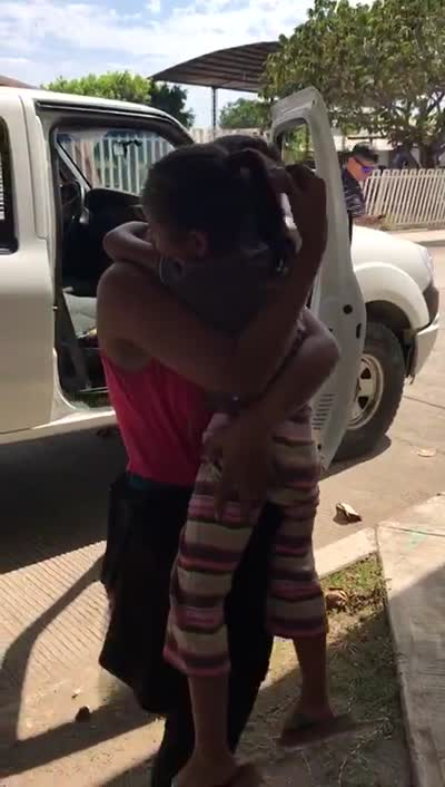Desaparecen dos infantes en la caravana migrante, ya fueron localizados