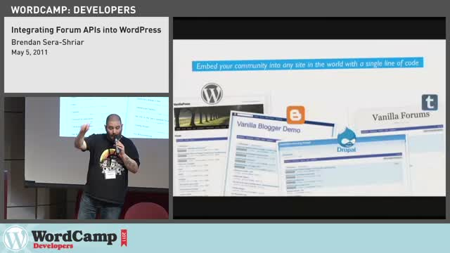 Brendan Sera-Shirar: Integrating Forum APIs in WordPress