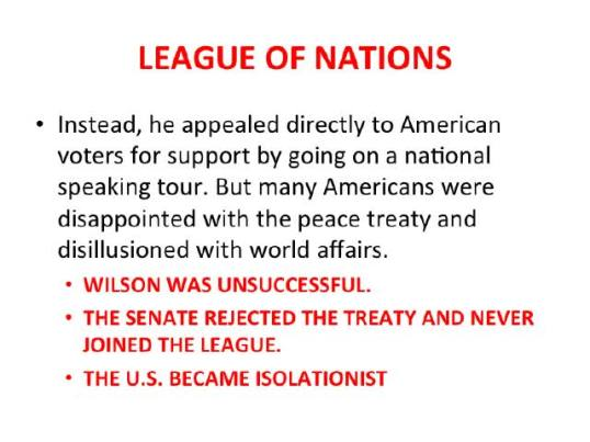 Treaty of versailles essay plan