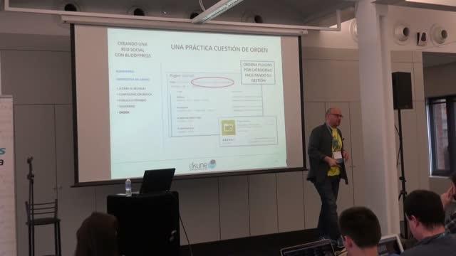Ramiro Tomé: Creando una red social con BuddyPress