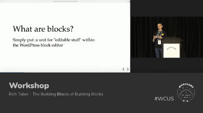 Rich Tabor - The Building Blocks of Building Blocks - Part 1