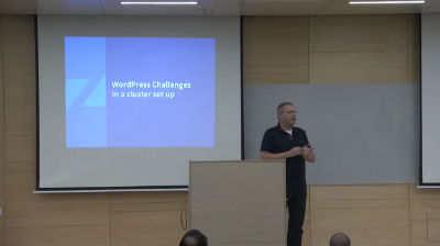 Boaz Ziniman: How to Scale WordPress on AWS in 15 Minutes