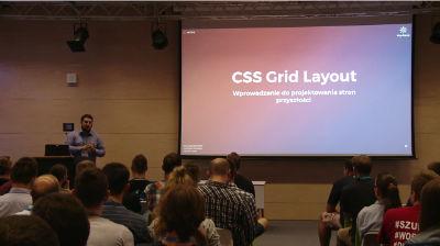 Michał Strześniewski: CSS Grid Layout, wprowadzenie do projektowania stron przyszłości