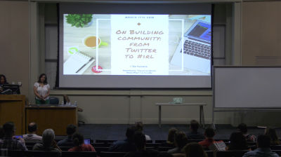Raquel Landefeld: On Building Community From Twitter to #IRL