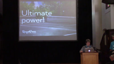 Mary Baum: Wanna End WordPress (design) To Your Will? Register Some Widget Areas!