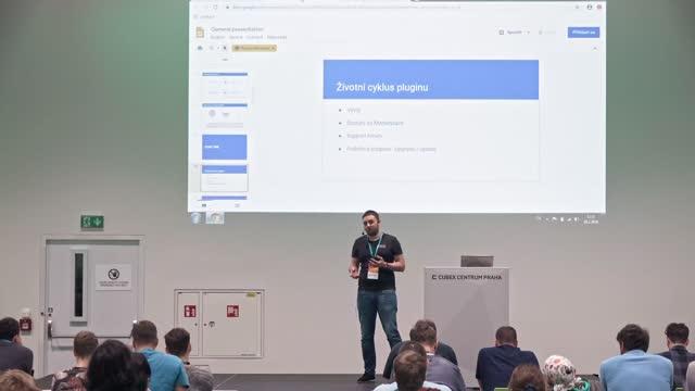Marek Gach: 'Vývoj a správa pluginu na 11 platformách