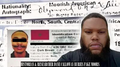 Historian Calls Out Fake Moorish Americans Buries Moorish