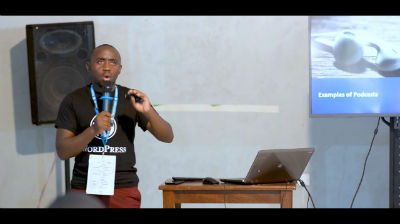 Peter Kamore: Podcasting and WordPress: How to use WordPress for your podcast.