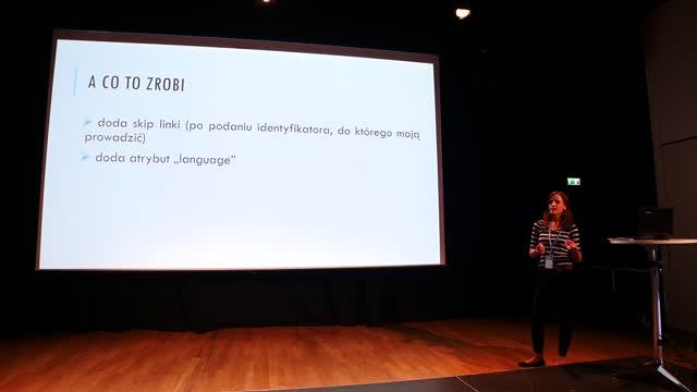 Weronika Sobótka: WordPress dostępny dla wszystkich