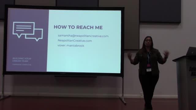 Samantha Johnston: Building a Dream Team