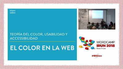 Piccia Neri: El color en la web: teoría del color, usabilidad y accessibilidad
