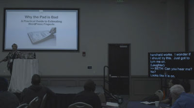 Beth Livingston: Why the Pad is Bad – A Practical Guide to Estimating WordPress Projects