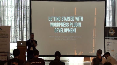 Thomas Vitale: Getting Started With WordPress Plugin Development
