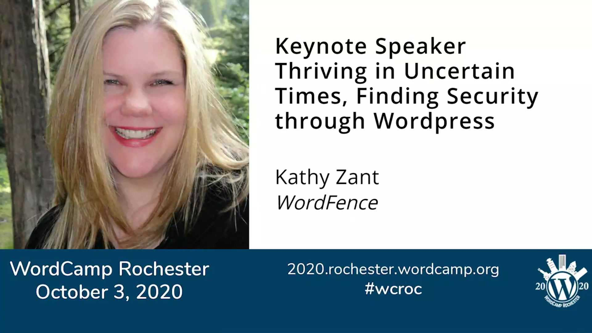 Kathy Zant: Thriving in Uncertain Times, Finding Security through WordPress