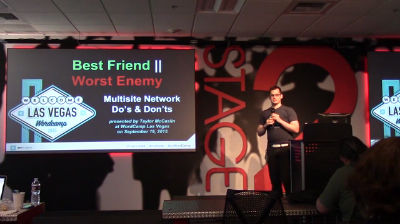 Taylor McCaslin: Best Friend and Worst Enemy - WordPress Multisite