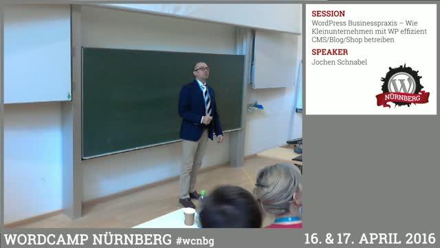 Jochen Schnabel: WordPress Businesspraxis – Wie Kleinunternehmen mit WP effizient CMS/Blog/Shop betreiben