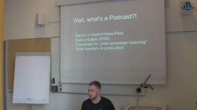 Simon Kraft: Publish a podcast with WordPress