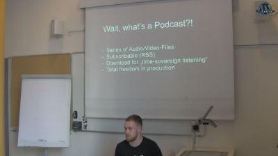 Simon Kraft: Publish a podcast with WordPress