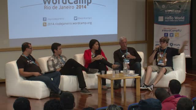 Abertura do Evento + Painel Design para WordPress
