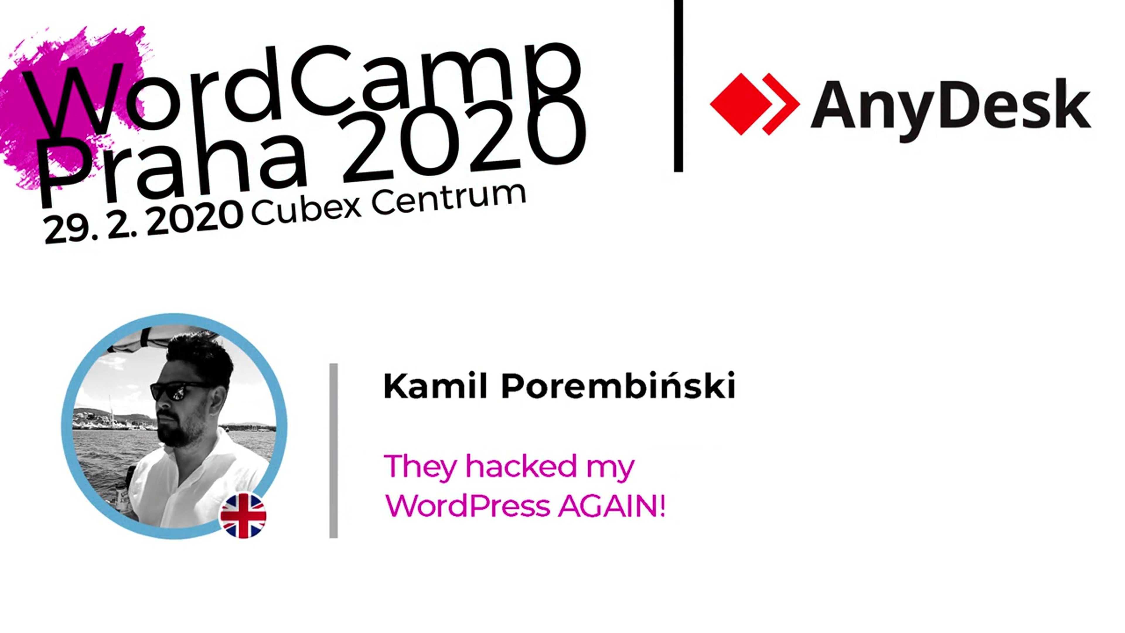 Kamil Porembiński: They Hacked My WordPress AGAIN!