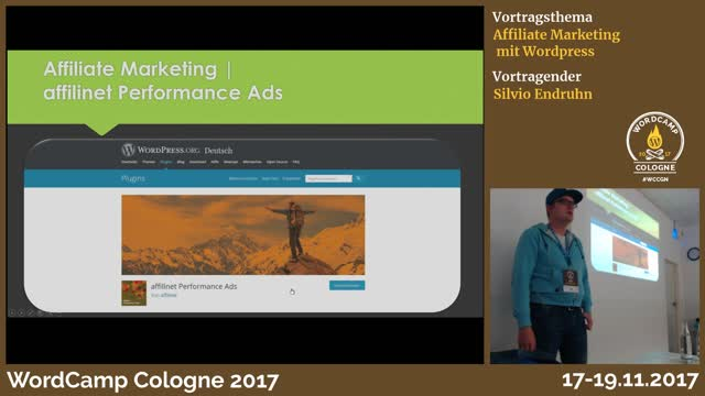 Silvio Endruhn: Affiliate Marketing mit WordPress