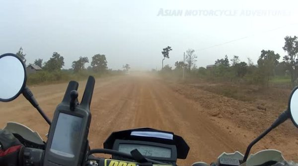 Motorcycle Ride From Pleiku, Vietnam to Kratie in Cambodia