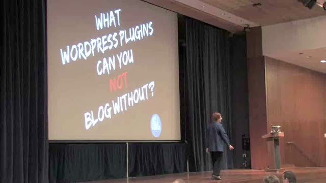 WordCamp SF 2008 - Lorelle Van Fossen: 260 Ways to Break WordPress