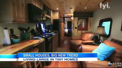 ABC News Video Inside the Tiny House Movement Sweeping the Nation