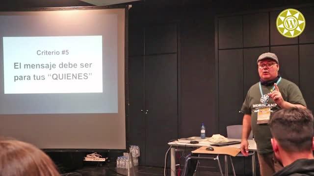 Juan Jacinto Soto Sánchez: Criterios de diseño de una página web para NO diseñadores