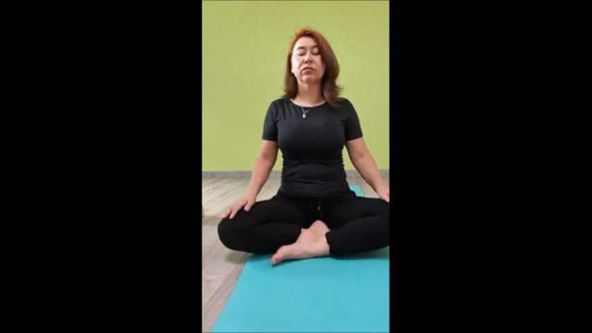 Yoga 6.07.20 Kniedehnung