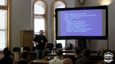 Sam Hotchkiss: WordPress as an API