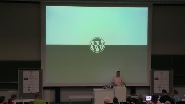 Caspar Hübinger: WordPress was ist das, und wenn doch, wohin