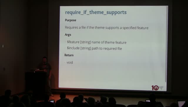 Zack Tollman: There's a Function for That: More for Less with Core Functions