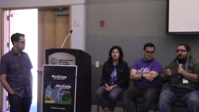 Panel: Gutenberg Q and A