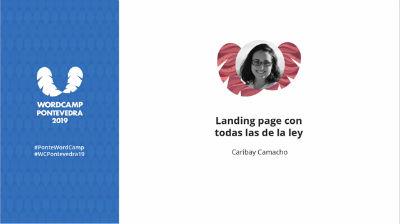 Caribay Camacho: Landing page con todas las de la ley