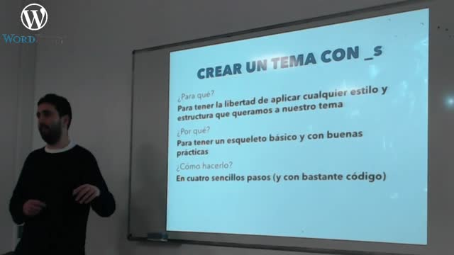 Modifica y crea temas de WordPress
