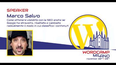 Marco Salvo: Come ottenere visibilità con la SEO anche se Google ha cambiato il modo in cui classifica i contenuti