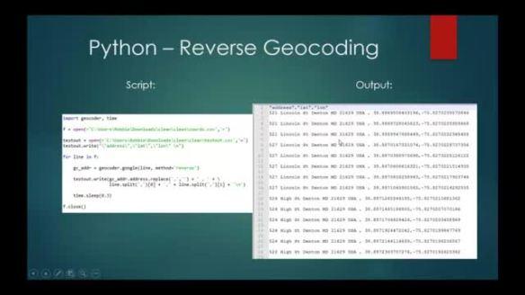Undergraduate Geospatial Python Projects | gisadvising