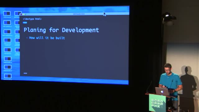 Matt Adams: Designing With Developers