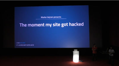 Marko Heijnen: The Moment My Site Got Hacked