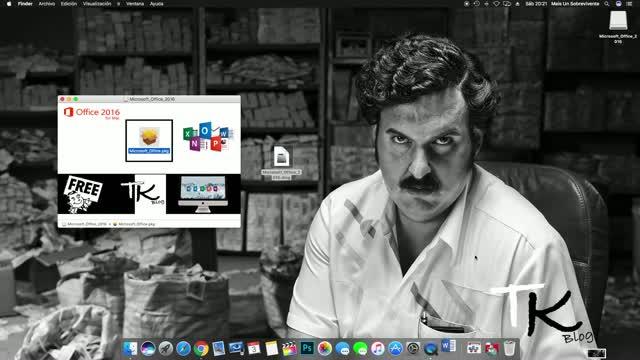 descargar instalar y activar office 2016 para mac full en español