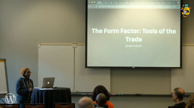 Naomi C. Bush: The Form Factor - Tools of the Trade