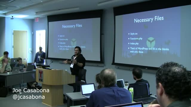 Joe Casabona: Building A Simple Theme Framework