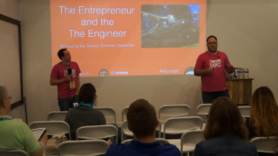 James Laws and Kevin Stover: The Entrepreneur and the Engineer - Managing the Tension Between Opposites