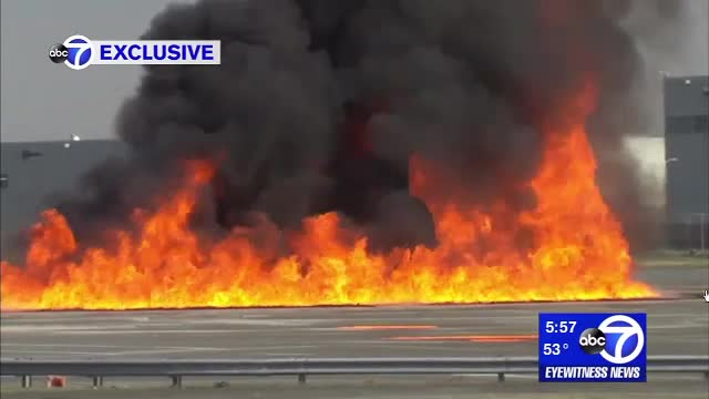 Airport Safety Starts with a Fire Drill |