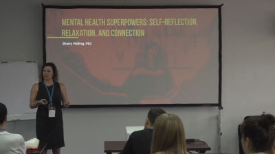 Sherry Walling: Mental Health Superpowers: Self-reflection, relaxation, and connection for the productive life